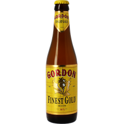 Bottled beer - Gordon Finest gold