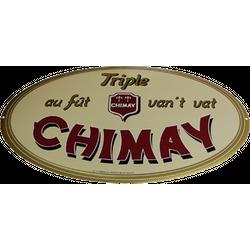 Accesorios para bar - Plaque émaillée Chimay Triple