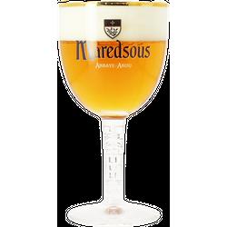 Verres à bière - Verre Maredsous Calice à Pied Fin - 33 cl