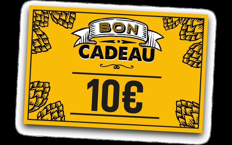 Cartes cadeaux - E-carte cadeau 10 euros