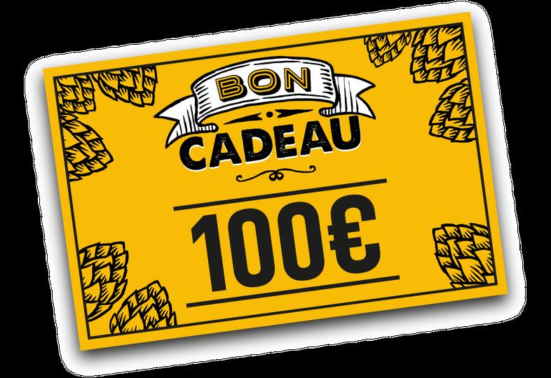 Cartes cadeaux - E-carte cadeau 100 euros