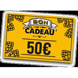 Cartes cadeaux - E-carte cadeau 50 euros