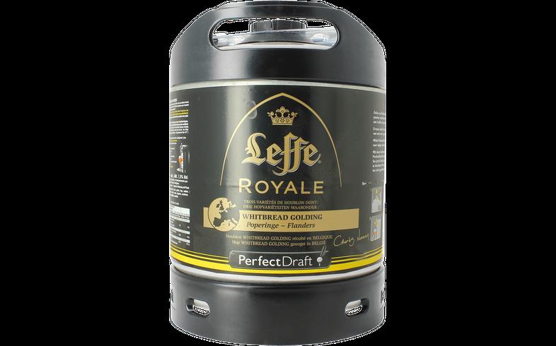 Fûts de bière - Fût 6L Leffe Royale