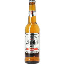 Bottled beer - Asahi 33cl