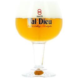 Beer glasses - Val Dieu50cl glass