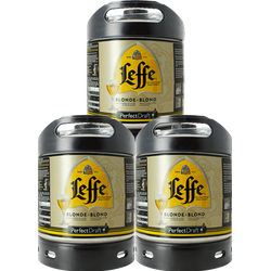 Fatöl - Leffe Blonde 6L PerfectDraft Fat 3-Pack