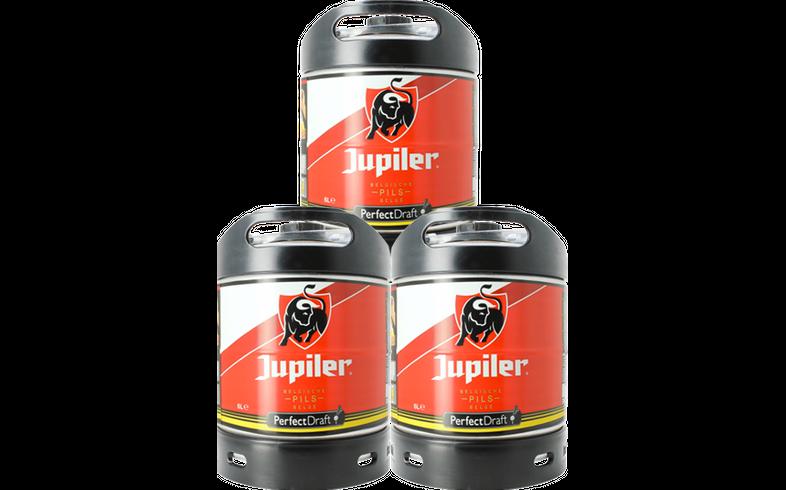 Tapvaten - PerfectDraft Jupiler Vaten 3x6L - 15 EUR Statiegeld