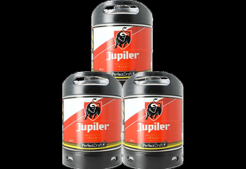 Fûts de bière - Pack 3 fûts 6L Jupiler