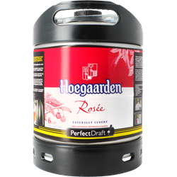 Tapvaten - PerfectDraft Hoegaarden Rosée Vat 6L - 5 EUR Statiegeld