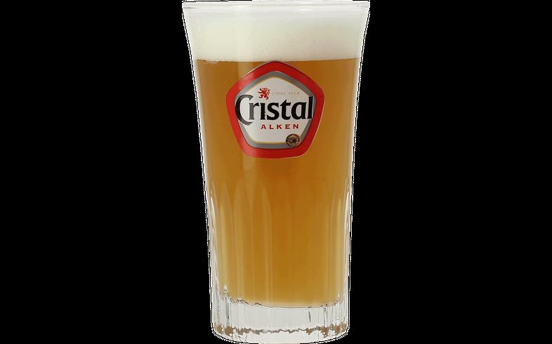 Beer glasses - Cristal ribbed stange glass
