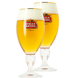 Ölglas - Pack 2 verres Stella Artois à pied - 50 cl