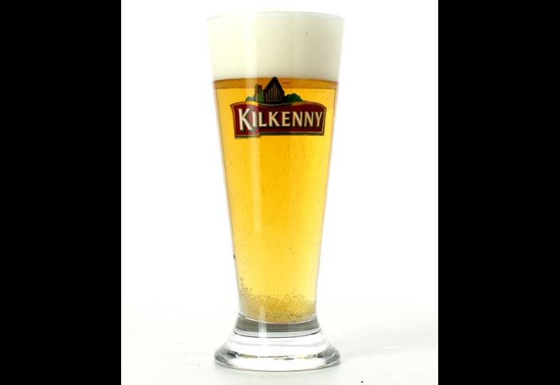 Ölglas - glass Kilkenny plat allongé