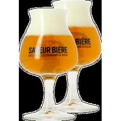Bierglazen - 2 Glazen Dégustation Saveur Bière - 15 cl