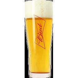 Ölglas - Budweiser Bud 50cl glass