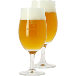 Beer glasses - 2 Thornbridge Brewery beer glasses tulip - 25 cl