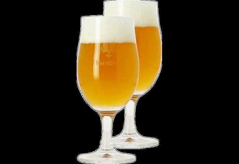 Verres à bière - Pack 2 Verres Thornbridge tulipe - 25cl