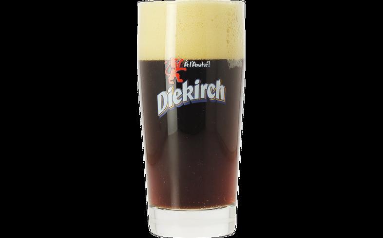 Verres à bière - Verre Diekirch à pied plat
