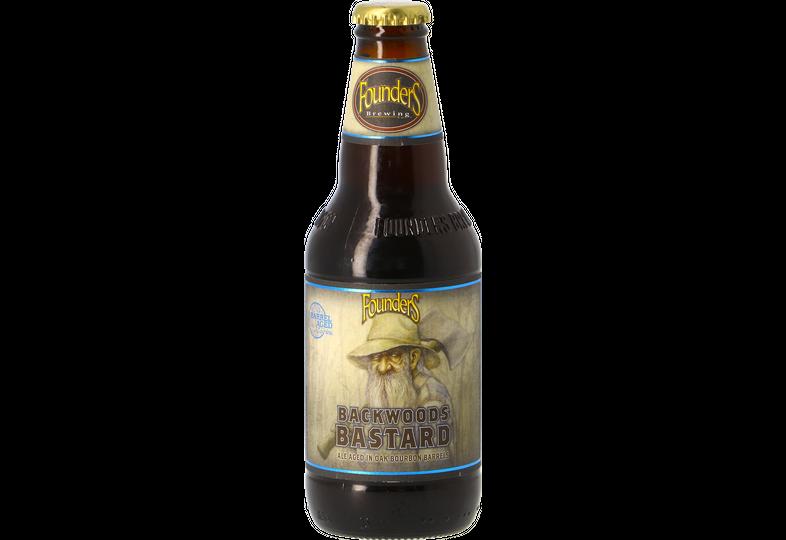 Bottled beer - Founders Backwoods Bastard 2019 - Bourbon Barrel Aged