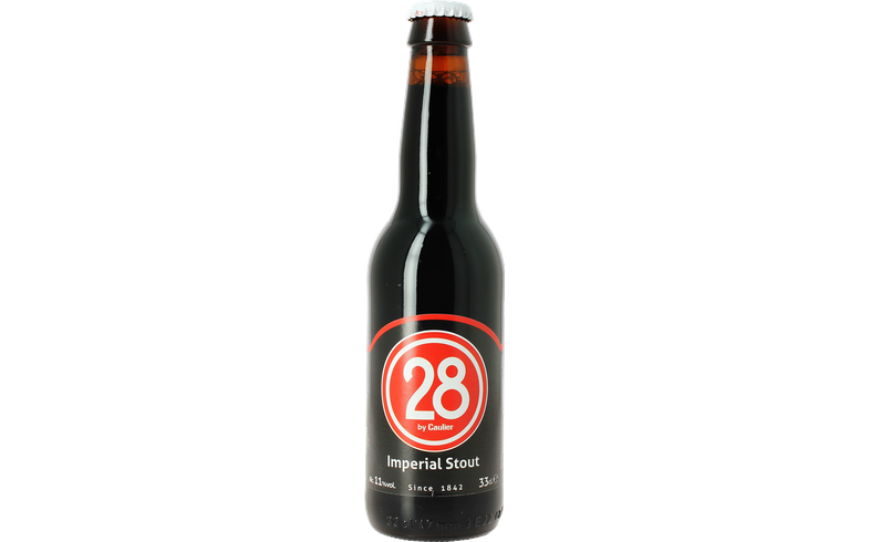Bottled beer -  Caulier 28 Imperial Stout