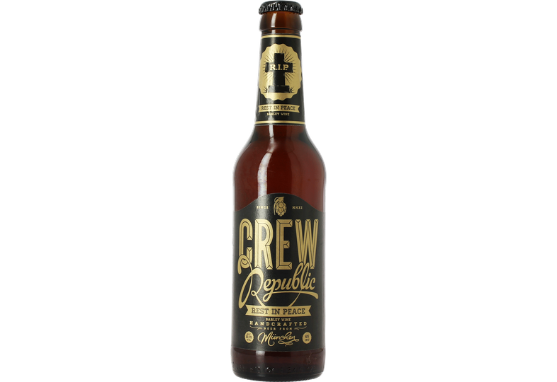 Bottled beer - Crew Republic Rest in Peace