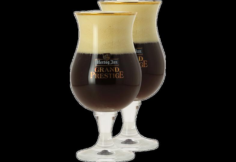 Biergläser - Pack 2x 25cl Hertog Jan Grand Prestige Gläser