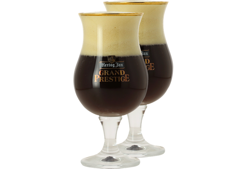 Verres à bière - Pack 2 verres Hertog Jan Grand Prestige - 25 cl