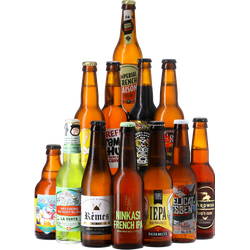 Beer Collections - The French Collection - Le Craft de la France - 12x33cl