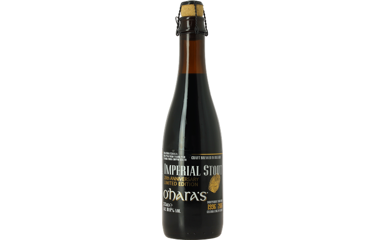 Bottled beer - O'Hara's Imperial Stout 20th Anniversary
