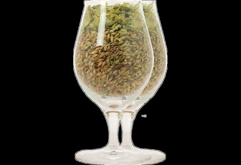 Verres à bière - Pack 2 verres neutres Barrel Aged