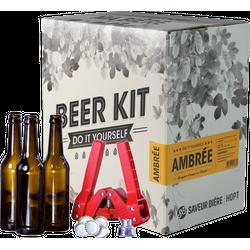 Kit à bière tout grain - Beer Kit complet, je brasse une ambrée