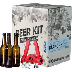 Kit à bière tout grain - Beer Kit complet, je brasse une blanche
