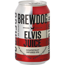 Flaskor - Brewdog Elvis Juice - 33cl can