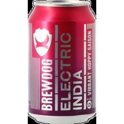 Bottled beer - Brewdog Electric India - Can