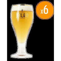 Verres à bière - Pack de 6 Verres Jenlain - 25 cl