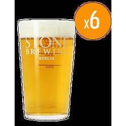 Ölglas - Pack de 6 Verres Stone - 50 cl
