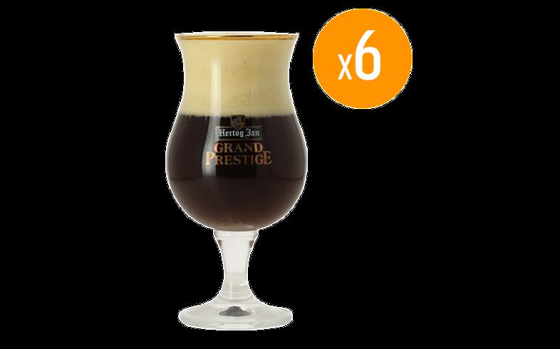 Verres à bière - Pack de 6 Verres Hertog Jan Grand Prestige - 25 cl