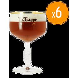 Verres à bière - Pack de 6 verres La Trappe