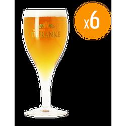 Beer glasses - Pack de 6 verres De Ranke - 25 cl