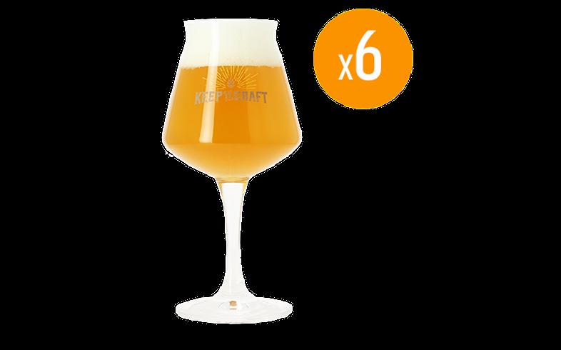 Bicchieri - Pack de 6 bicchieri Teku keep it Craft - 25 cl