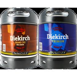 Kegs - Diekirch Premium & Grand Cru PerfectDraft Keg - 2-Pack