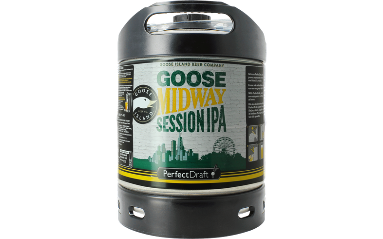 Barriles - Barril Goose Midway Session IPA PerfectDraft 6l