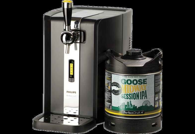 Bierzapfanlagen - Zapfanlage PerfectDraft + Goose Island Midway Session IPA Fass 6 liter