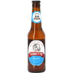 Bottled beer - Ginette BIO White