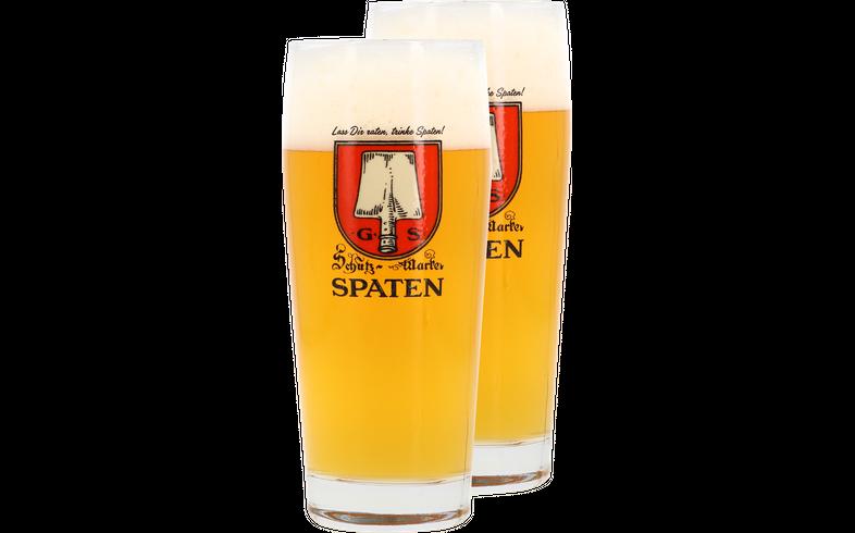 Bicchieri - 2 Bicchieri Spaten - 50cl