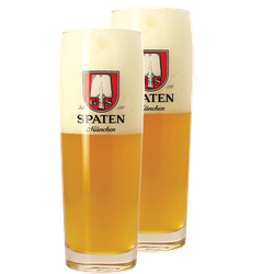 Beer glasses - Pack 2 verres Spaten - 50 cl