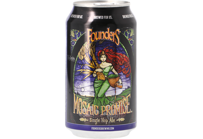 Bottled beer - Founders Mosaic Promise