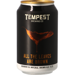 Bottled beer - Tempest All The Leaves Are Brown