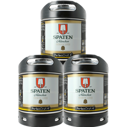 Fässer - Spaten PerfectDraft 3er Pack Fässer 6 liter - Mehrweg