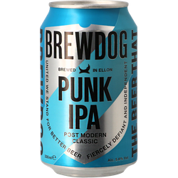 Bottled beer - Brewdog Punk IPA - Can