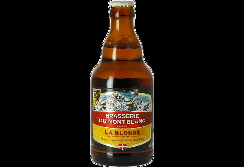 Flaskor - Mont Blanc - Blond 33cl